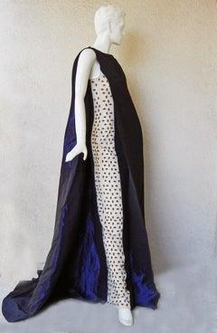 Antonio Berardi Runway Beaded Monastic Tabard Cady Dress Gown  NEW