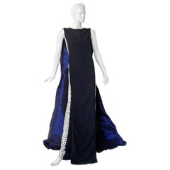 Antonio Berardi Runway Beaded Monastic Tabard Cady Dress Gown  NWT