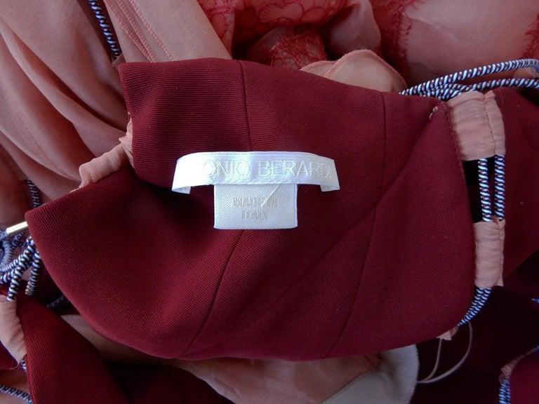 Antonio Berardi Stunning Runway Boho Chic Voluminous Dress Gown   New For Sale 1