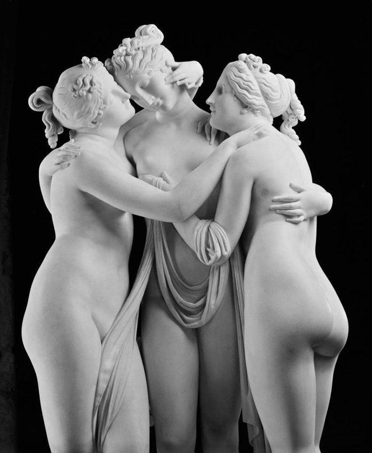 Antonio Canova Black and White Photograph - 'The Three Graces'  Oversize V&A Portfolio Limited Edition print