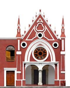 Calle de Las Bovedas Bellas artes, Small archival color pigment print.Cartagena
