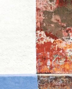 Calle San Antonio, medium close-up color archival pigment print  Cartagena