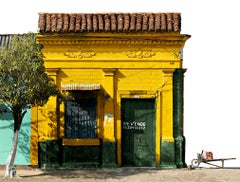 Casa No 10-39 From The Series of Mompox, Small Archival Pigmentations Print
