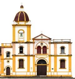 Iglesia de la Concepcion, Mompox, medium color archival panoramic pigment print
