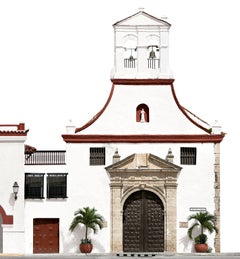 Iglesia de la Tercera Orden, Cartagena. large panoramic color photograph