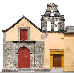 Iglesia San Roque, small archival pigment print. Cartagena