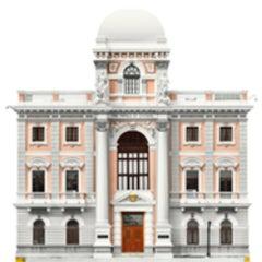 Palacio Municipal, 2002, Small Archival Pigment Print Panama