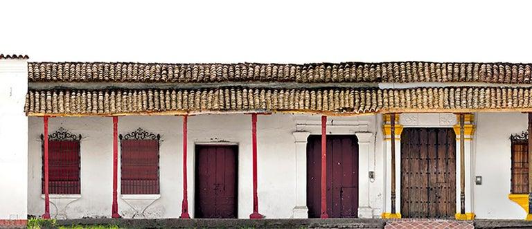 Portales de la Marquesa, Mompox, medium archival pigment print  - Photograph by Antonio Castañeda