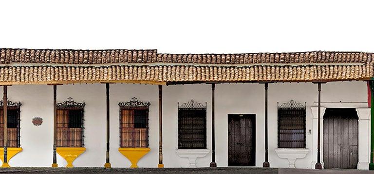 Portales de la Marquesa, Mompox, medium archival pigment print  - Contemporary Photograph by Antonio Castañeda
