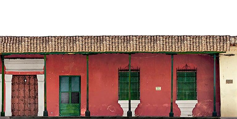 Portales de la Marquesa, Mompox, medium archival pigment print  - Brown Color Photograph by Antonio Castañeda