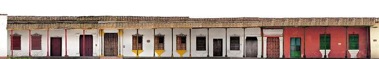Antonio Castañeda Color Photograph - Portales de la Marquesa, Mompox, medium archival pigment print