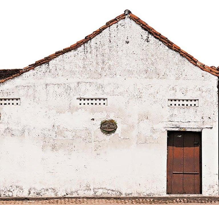 Portales de Santa Bárbara, Mompox, large archival pigment print  - Contemporary Photograph by Antonio Castañeda