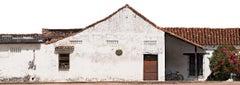 Portales de Santa Bárbara, Mompox, medium color archival pigment print