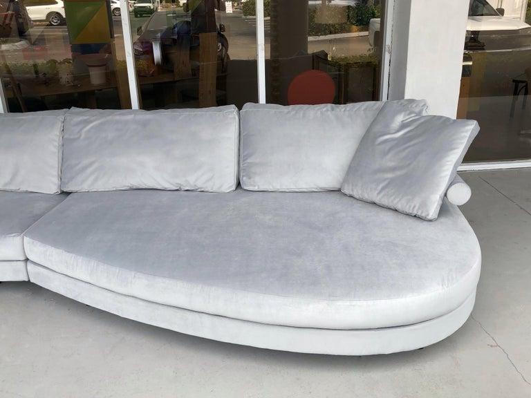 Antonio Citterio for B&B Sofa Chaise For Sale 4