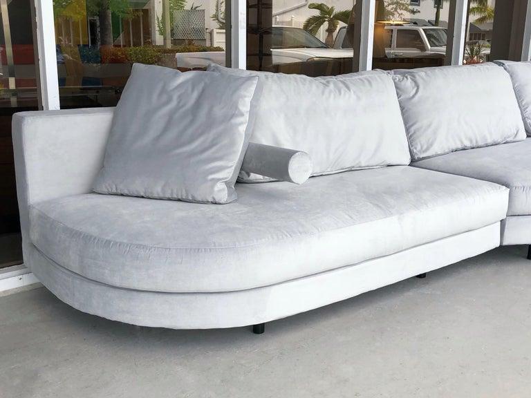 Antonio Citterio for B&B Sofa Chaise For Sale 9