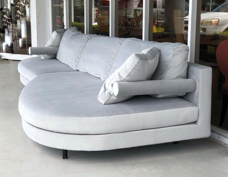 Antonio Citterio for B&B Sofa Chaise In Good Condition For Sale In Miami, FL