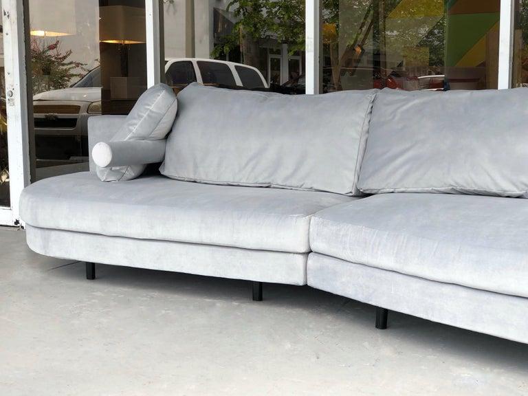 Late 20th Century Antonio Citterio for B&B Sofa Chaise For Sale