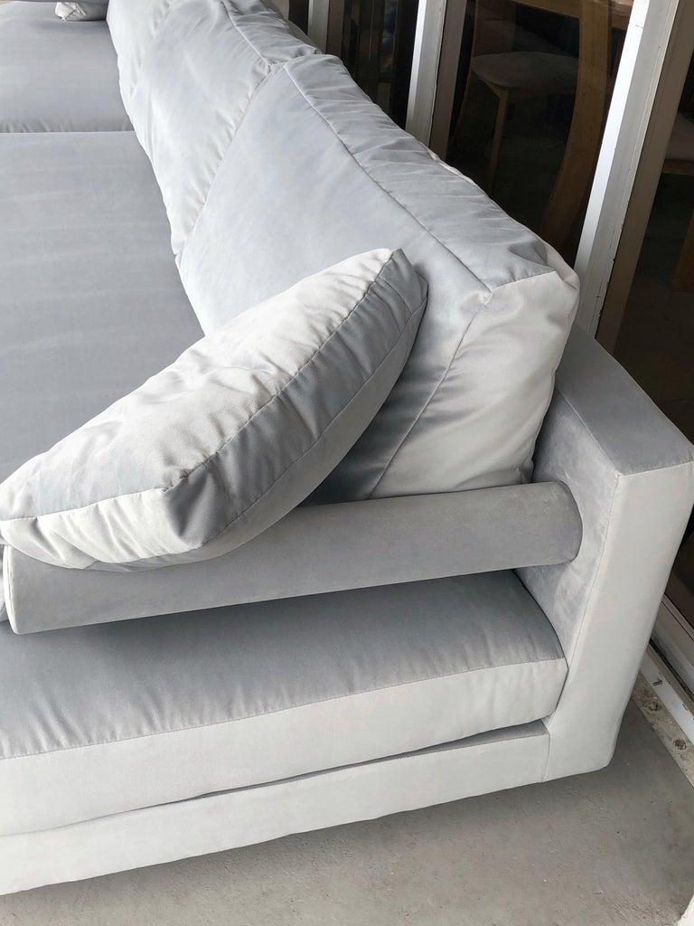 Fabric Antonio Citterio for B&B Sofa Chaise For Sale