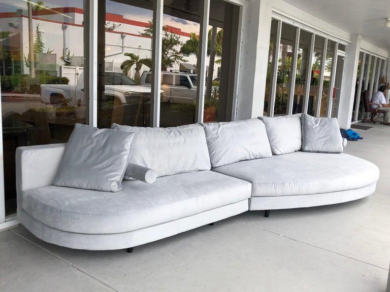 Antonio Citterio for B&B Sofa Chaise For Sale 2