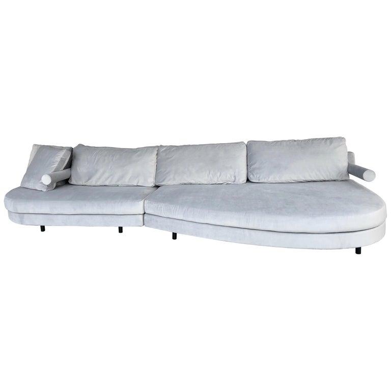 Antonio Citterio for B&B Sofa Chaise For Sale