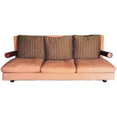 Baisity Postmodern Three-Seat Sofa, Antonio Citterio Design for B&B Italia, 1986