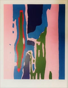Untitled - Antonio Corpora - 1960s - Lithograph - Contemporary