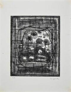Untitled - Original Etching by Antonio Corpora - Mid-20th Century