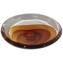 Antonio da Ros for Cenedese Fine Layered Murano Glass Bowl