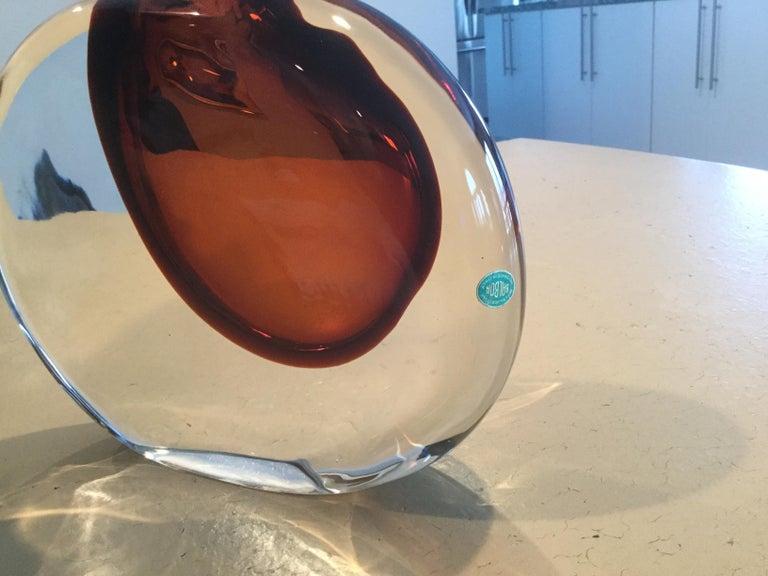 Mid-Century Modern Antonio da Ros for Cenedese Murano Momento Vase For Sale