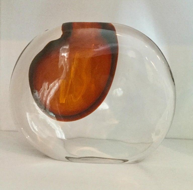 Italian Antonio da Ros for Cenedese Murano Momento Vase For Sale