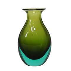 Antonio da Ros for Gino Cenedese Sommerso Vase, circa 1960