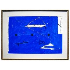 "Antonio Davide ""Impressioni Mediterranee, 1970"" Mixed-Media On Board"