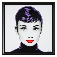 Black Audrey fondo blanco