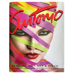 Antonio Fashion Art Sex and DIsco Rizzoli Out of Print Large Book