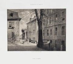 Le Bout de la Treille - Original Lithograph - 19th Century