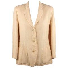 Antonio Fusco Linen Look Blazer Jacket 44
