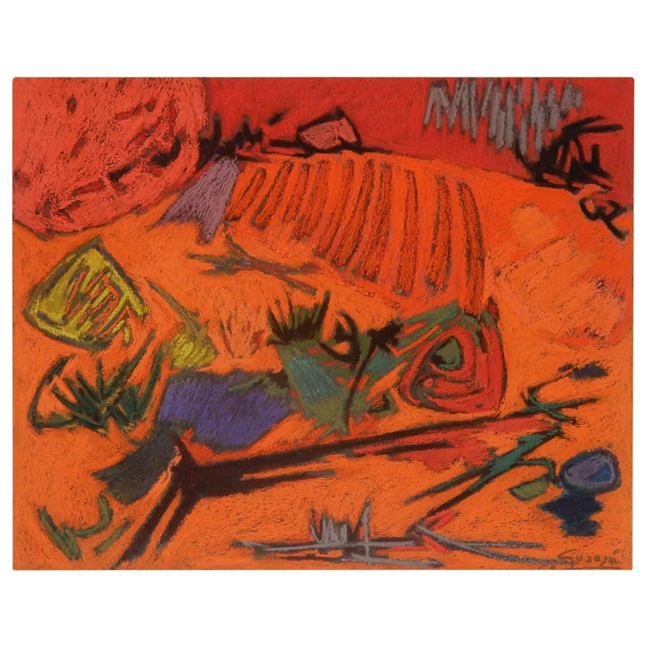 Antonio Guanse' Original Abstract Painting