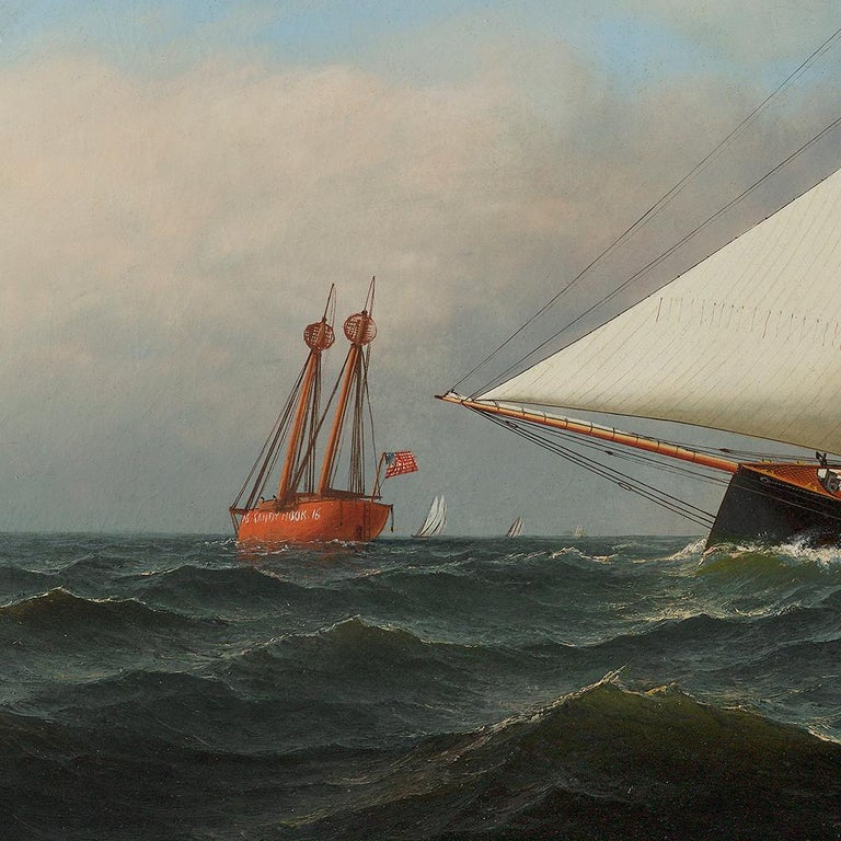 New York Yacht Club Race, 1878 For Sale 1