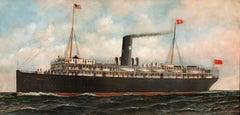 Plant Line S.S. Evangeline,  Halifax/London/Glasgow, 1912- 1921