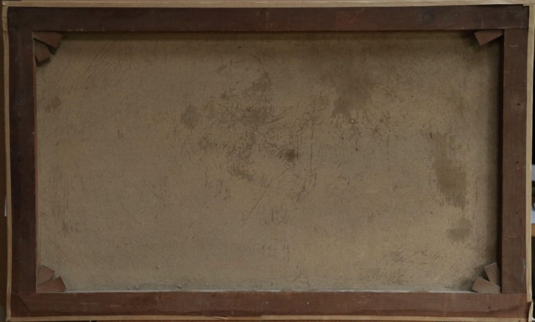 S.S. Chateau Margaux - 19th Century Oil, Maritime Landscape by Antonio Jacobsen For Sale 9