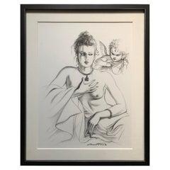Antonio Lopez 1979 Coty Award Lithograph Barry Kieselstein-Cord