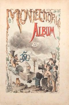 Album di Montecitorio - Lithograph by A. Maganaro - 1872
