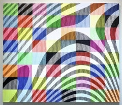 Leave your boots on! Contemporary OP ART trick of the eye