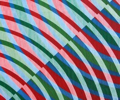 "We all want to win"" Contemporary OP ART trick of the eye"