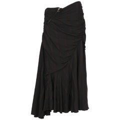 Antonio Marras Black Vintage Skirt, 1990s