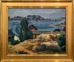 Antonio Martino, Gloucester, MA, Oil on Canvas, 1940's