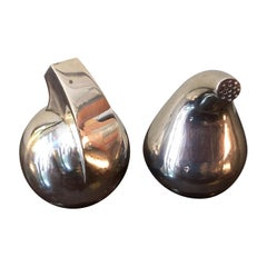 Antonio Pineda Mexican 925 Silver Salt and Pepper