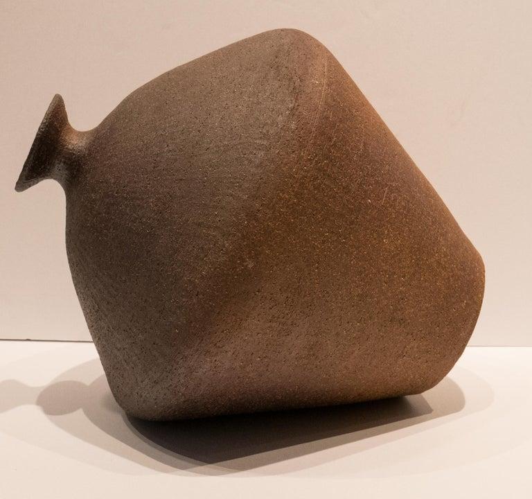Mid-20th Century Antonio Salvador Orodea Stoneware Vessel For Sale