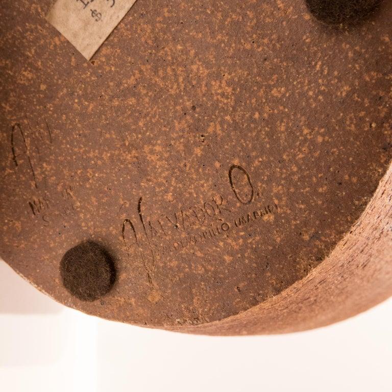 Antonio Salvador Orodea Stoneware Vessel For Sale 1