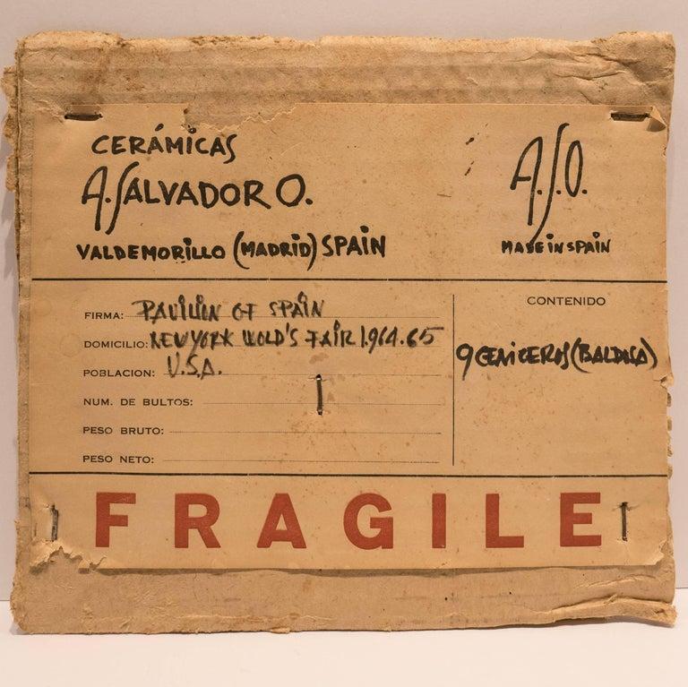 Antonio Salvador Orodea Tile from the 1964-1965 World's Fair For Sale 2